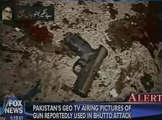 Pakistan TV Says this is the Gun Used