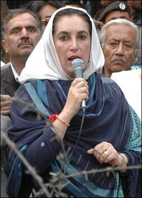 """I don't fear death... I don't think it can happen unless God wants it to happen because so many people have tried to kill me"" Benazir Bhutto, 1953-2007"