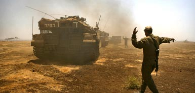 Israel took the Golan Heights after the 1967 six-day war