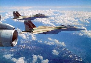 "F-15I's from the Israeli 69th Fighter Squadron - ""The Hammers"" that carried out the Raid on Syrian Nuclear Facilities."