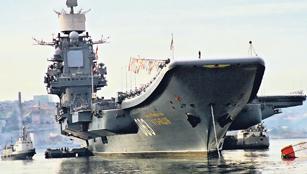 Russian Aircraft Carrier Kiev
