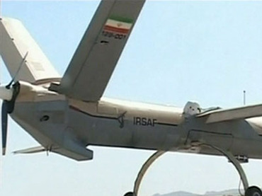 Iranian Shahed-129 drone. IRINN image.