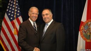 WCCR SG Tom Harb with VP Joe Biden